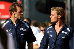 Alexander Wurz, Williams F1 Team, Nico Rosberg, WilliamsF1 Team