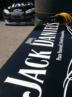 Detail of the Jack Daniel's Chevy