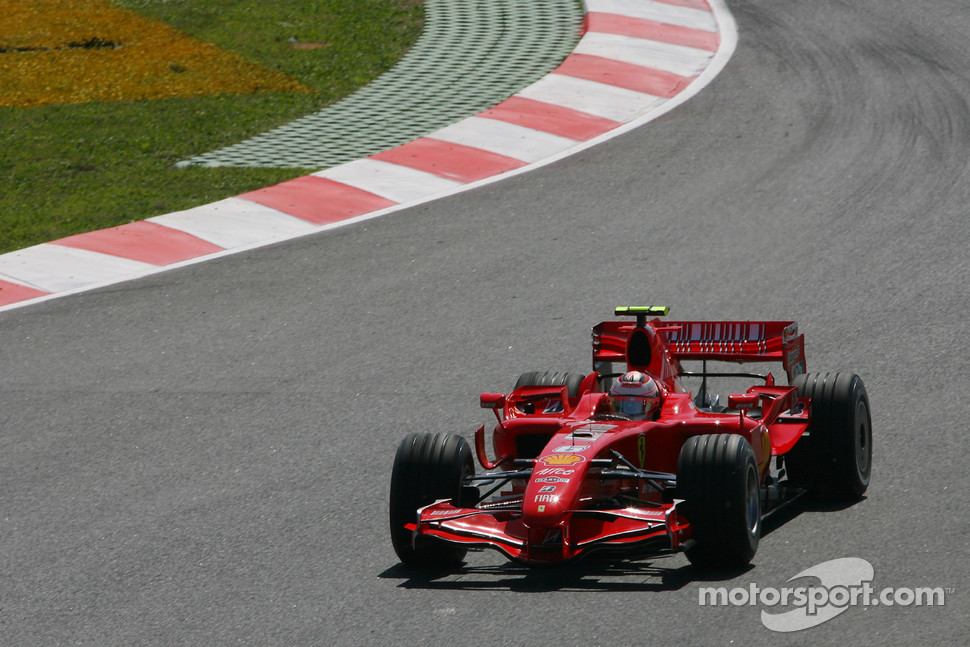 Kimi Raikkonen, Scuderia Ferrari, F2007