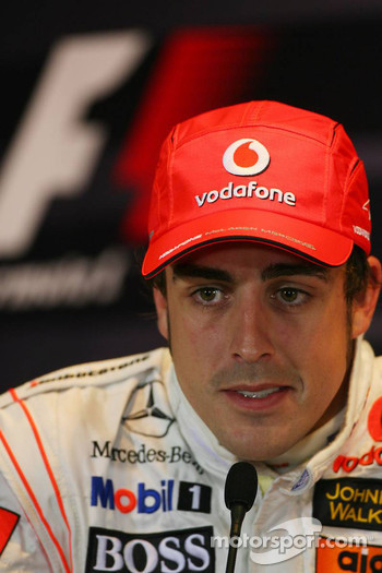 FIA press conference: Fernando Alonso, McLaren Mercedes