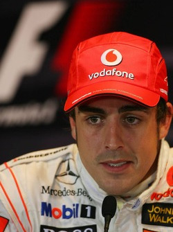 FIA press conference: Fernando Alonso, McLaren Mercedes