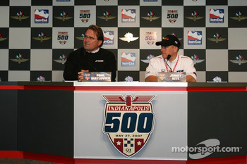 Press conference: Paul Diatlovich and Jimmy Kite