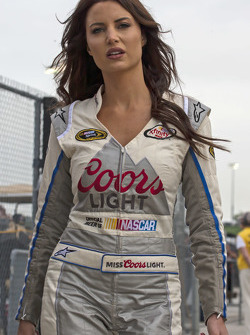 Lovely Miss Coors Light