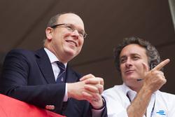 Prince Albert II and Alejandro Agag, CEO Formula E