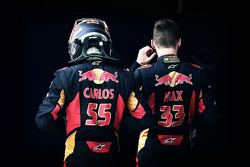 Carlos Sainz Jr., Scuderia Toro Rosso, Max Verstappen, Scuderia Toro Rosso
