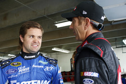 Ricky Stenhouse Jr., Roush Fenway Racing Ford and Greg Biffle, Roush Fenway Racing Ford
