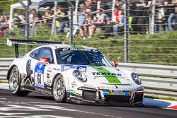 #61黑隼车队保时捷911 GT3 Cup: Manuel Metzger, Philipp Eng, Hannes Plesse