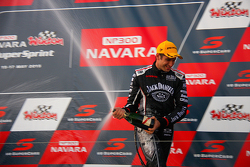 Second placed Rick Kelly, Nissan Motorsports