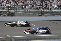 Josef Newgarden, CFH Racing Chevrolet and Jack Hawksworth, A.J. Foyt Enterprises