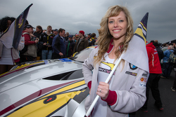 Marc VDS Racing grid girl
