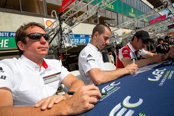 Porsche Team: Frédéric Makowiecki, Patrick Pilet, Wolf Henzler