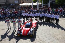 #46 Thiriet by TDS Racing ORECA 05: Tristan Gommendy, Ludovic Badey, Pierre Thiriet