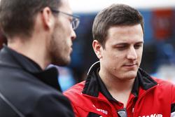 Fabio Leimer, in the GP2 paddock