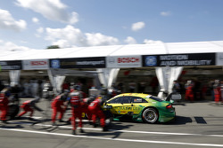 Pitstop, Mike Rockenfeller, Audi Sport Team Phoenix Audi RS 5 DTM