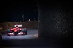 Marc Gene in a Ferrari F1