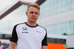 Kevin Magnussen, McLaren Test and Reserve Driver.