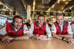 Phoenix Racing: Markus Winkelhock, Marc Basseng and Christopher Haase