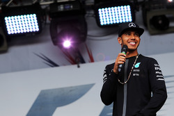 Lewis Hamilton, Mercedes AMG F1 at the post race concert
