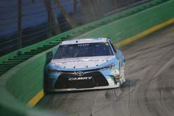 J.J. Yeley, BK Racing Toyota in trouble