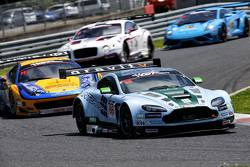 #88 Craft-Bamboo Racing Aston Martin Vantage V12 GT3: Richard Lyons, Frank Yu