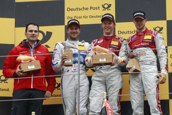 Race winner: Mattias Ekström, Audi Sport Team Abt Sportsline, Audi A5 DTM, second place Gary Paffett, ART Grand Prix Mercedes-AMG C63 DTM, third place Edoardo Mortara, Audi Sport Team Abt Audi RS 5 DTM
