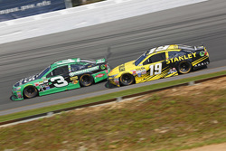Austin Dillon, Richard Childress Racing Chevrolet and Carl Edwards, Joe Gibbs Racing Toyota