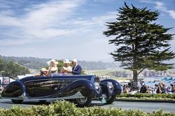 Margie & Robert E. Petersen Collection, 1939 Bugatti Type 57C Vanvooren Cabriolet