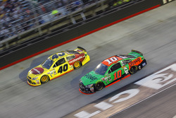 Danica Patrick, Stewart-Haas Racing Chevrolet and Landon Cassill