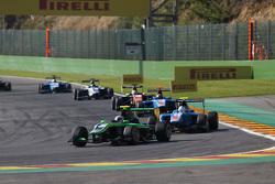 Alex Fontana, Status Grand Prix leads Matheo Tuscher, Jenzer Motorsport
