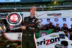 Polesitter Will Power, Penske Racing Chevrolet