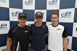 Post-qualifying press conference: second place Mitch Evans, RUSSIAN TIME and polesitter Pierre Gasly, DAMS and third place Stoffel Vandoorne, ART Grand Prix
