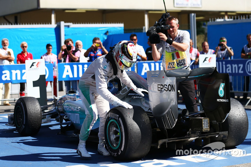 Ganador Lewis Hamilton, Mercedes AMG F1 W06