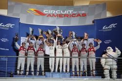 LMP1组领奖台