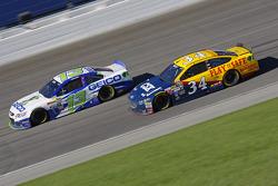 Brett Moffitt and Casey Mears, Germain Racing Chevrolet