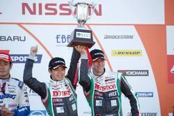 Third place: Daiki Sasaki, Michael Krumm, D'station Advan Nissan GT-R