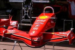 Scuderia Ferrari, front wing