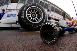 BMW Sauber F1 Team, wheel but gun