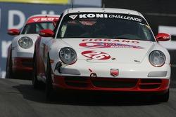 #26 Fiorano C-MAX Racing Porsche 997: Carlos de Quesada, Jean-François Dumoulin