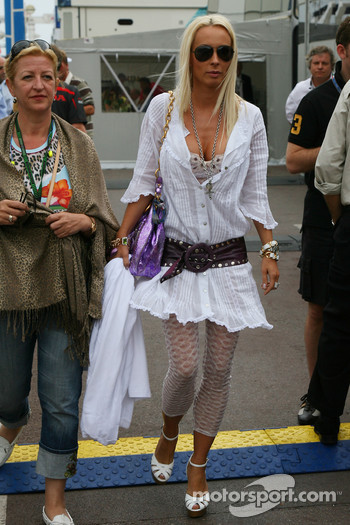 Cora Schumacher, Wife of Ralf Schumacher