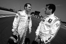 Jacques Villeneuve and Marc Gene