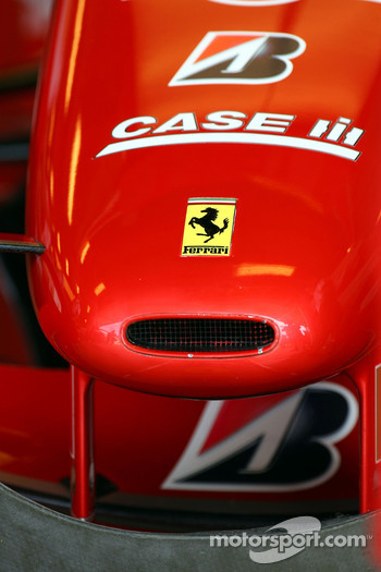 Feature of a Ferrari Nose