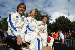 Vitaly Petrov, Liz Halliday
