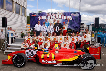 Newman Hass Lanigan celebrates 100 wins