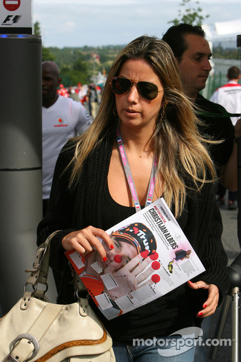 Rafaela Bassi, Girl Friend, girlfriend of Felipe Massa
