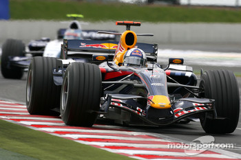 David Coulthard, Red Bull Racing, Alexander Wurz, Williams F1 Team