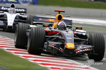David Coulthard, Red Bull Racing, RB3, Alexander Wurz, Williams F1 Team, FW29