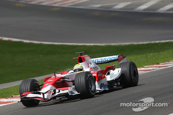 Eau Rouge, Ralf Schumacher, Toyota Racing