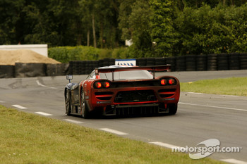 #54 Team Oreca Saleen S7R: Franco Groppi, Nicolas Prost, Jean-Philippe Belloc