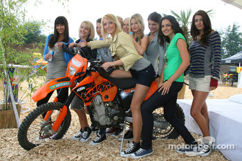 Formula Una's with a KTM Motorcycle
