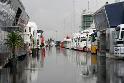 Quite a wet paddock